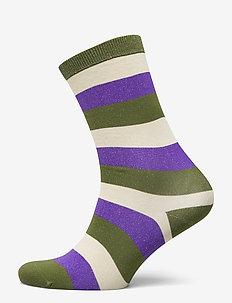 Polyamide Blend Striped Socks - KALAMATA