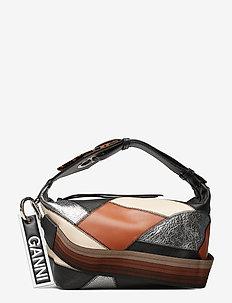 Leather Hand Bag - MULTICOLOUR