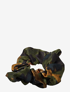 Heavy Satin Scrunchie - KALAMATA