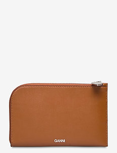 Wallet - plånböcker - cognac