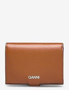 Mini Wallet - plånböcker - cognac