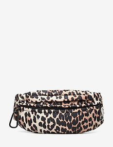Tech Fabric Fanny Pack - LEOPARD