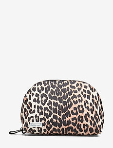 Tech Fabric Toiletry Bag - cosmetic bags - leopard