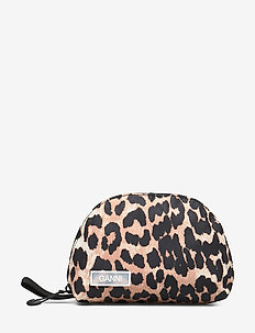 Tech Fabric Toiletry Bag Small - LEOPARD