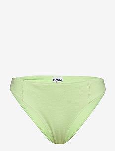 Recycled Textured Swimwear - PATINA GREEN