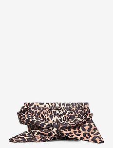 Padded Tech Fabric - shoulder bags - leopard