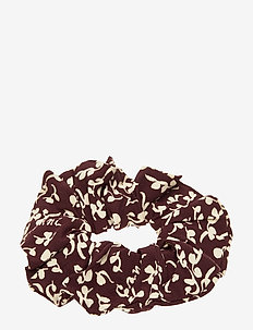 Printed Crepe - hair accessories - decadent chocolate
