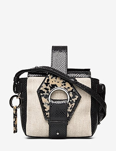 Leather - shoulder bags - nature