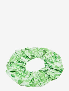 Printed Cotton Poplin - håraccessoarer - island green