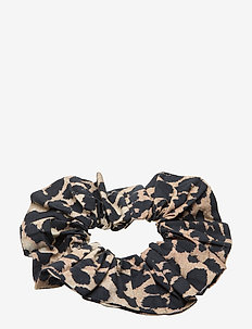 Printed Cotton Poplin - accessories - leopard
