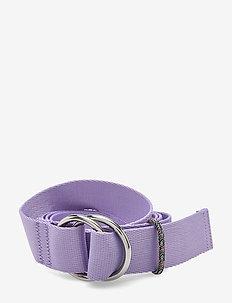 Webbing Belt - bælter - violet tulip