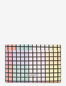 Card Holder Leather - kortholdere - multicolour