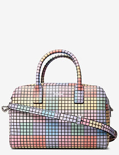 Top Handle Bag Leather - top handle - multicolour