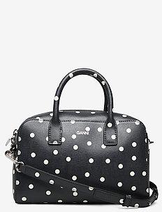 Top Handle Bag Leather - top handle tasker - sky captain