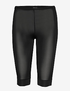 Short Leggings - fietsbroeken - black