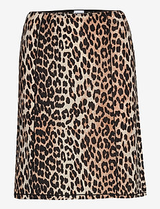 Slip Skirt - bodies & slips - leopard