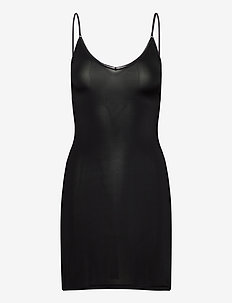 Slip Dress - bodies & slips - black