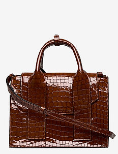 Top Handle Bag - top handle - toffee