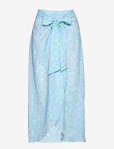 Skirt - strandtøj - alaskan blue