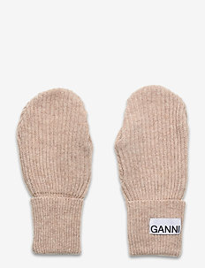 Recycled Wool Knit - gants - brazilian sand