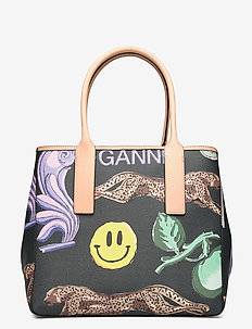 Tote Bag - top handle - multicolour