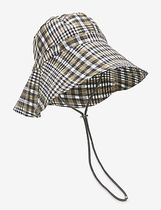 Seersucker Check Accessories - bucket hats - kalamata