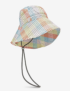 Seersucker Check Accessories - bucket hats - multicolour
