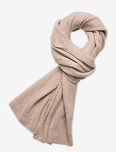 Recycled Wool Knit - scarves - brazilian sand