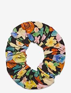 Printed Cotton Poplin - hår accessories - multicolour