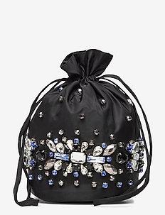 Crystals - wallets - black
