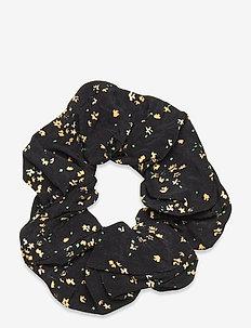 Printed Crepe - haar accessoires - black