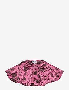 Printed Cotton Poplin - tilbehør - shocking pink