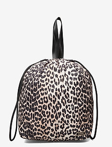 Recycled Tech Fabric Bags - bucket-laukut - leopard