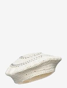 Cotton Knit - hattar - egret