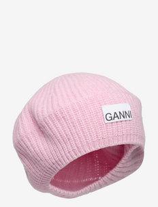 Rib Knit Acc - hatte - pink nectar