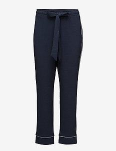 Clark Pants - bukser med lige ben - total eclipse