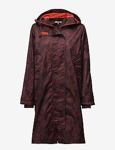 Vandalia - cienkie płaszcze - decadent chocolate