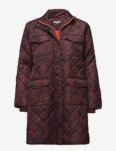 Vandalia - wyściełane płaszcze - decadent chocolate