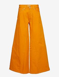 Denim Runway - vida byxor - turmeric orange