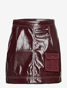 Patent Skirt - PORT ROYALE