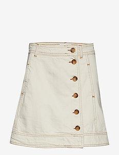 Heavy Twill Skirt - VANILLA ICE
