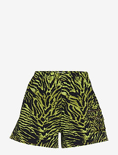 Soft Tiger - casual shorts - lime tiger