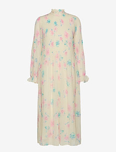 Pleated Georgette - AFTERGLOW