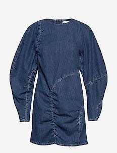 Suit Denim Dress - DENIM