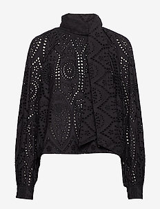 Broderie Anglaise - BLACK