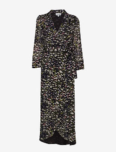 Printed Georgette - BLACK