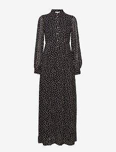 Printed Georgette - skjortekjoler - black