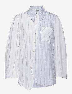 Shirting Cotton - long-sleeved shirts - block colour