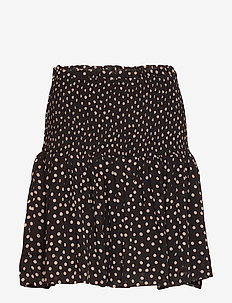 Printed Georgette - spódnice mini - black