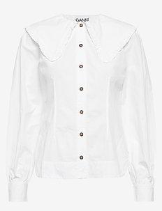 Cotton Poplin - BRIGHT WHITE